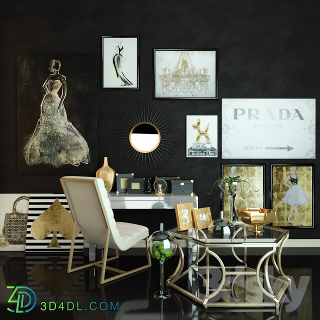 Other - A set of furniture and decor Zgallerie