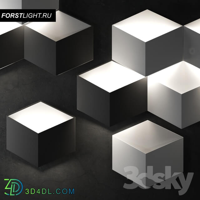 Wall light - Wall Lamp Forstlight Vista