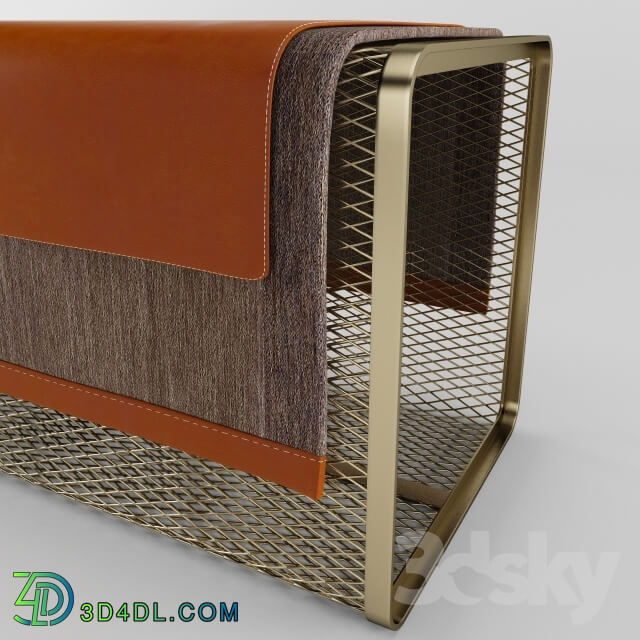 Other - Wire Mesh Bench