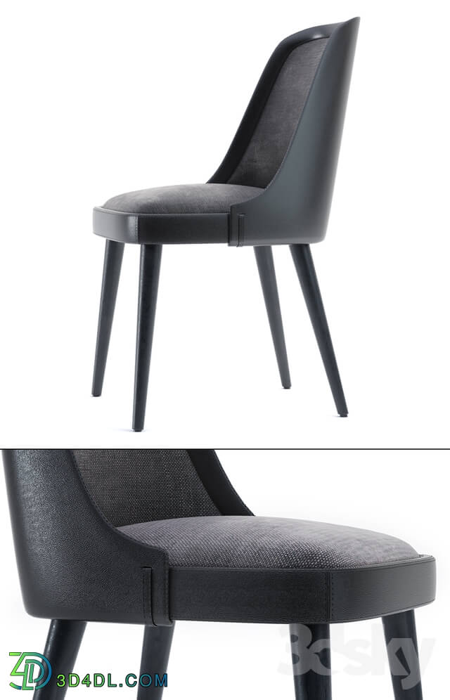 Chair - LAVAL LEATHER CHAIR