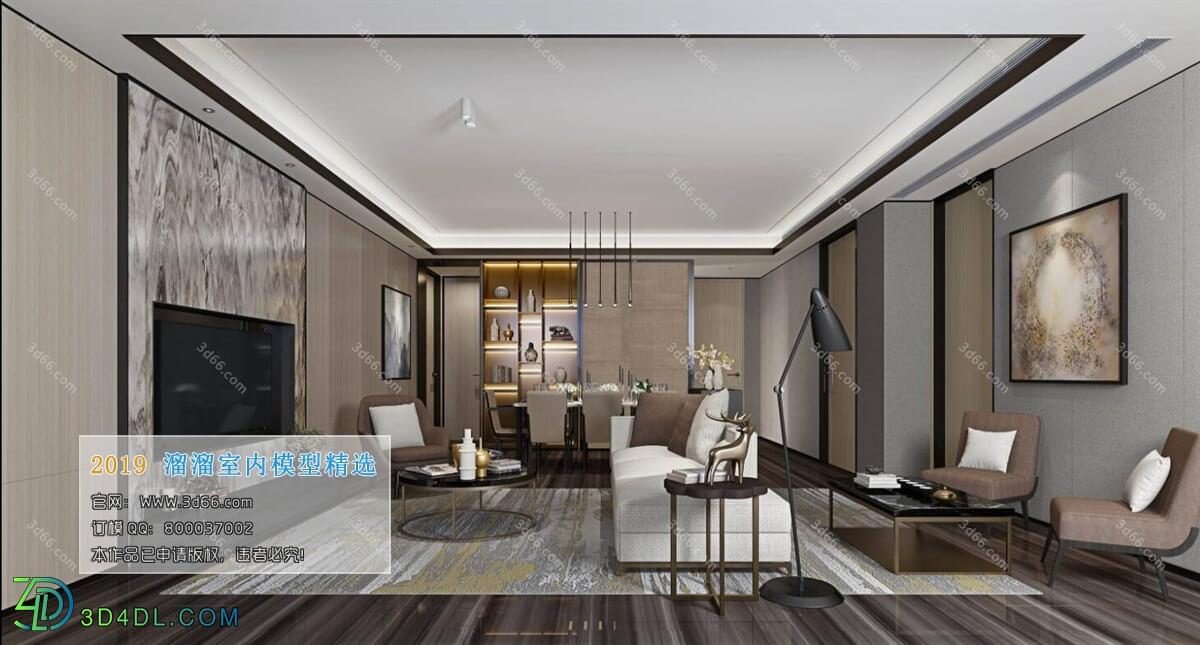3D66 2019 Livingroom Modern style (A031)