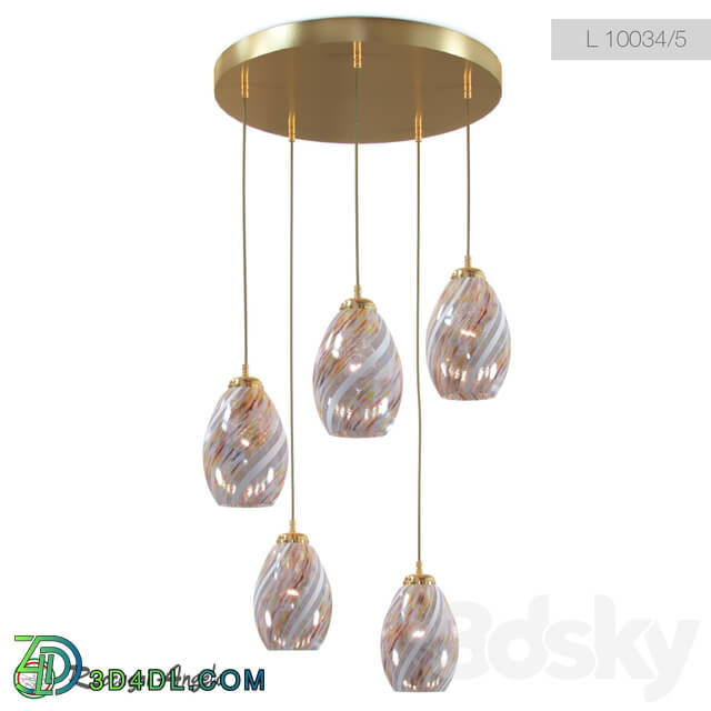 Ceiling light - Reccagni Angelo L 10034_1