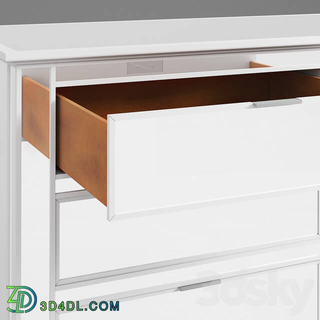 Sideboard _ Chest of drawer - Pottery Barn-Park 6-Drawer Extra Wide Mirrored Dresser