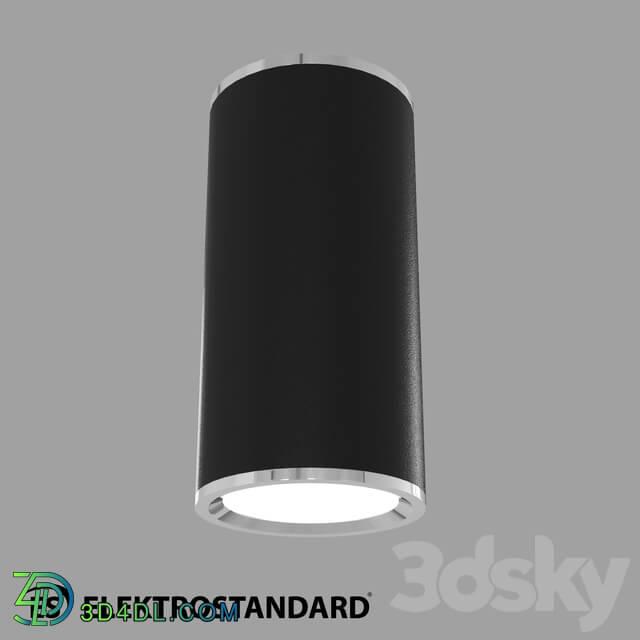 Spot light - OM Ceiling lamp Elektrostandard DLN101 GU10 BK