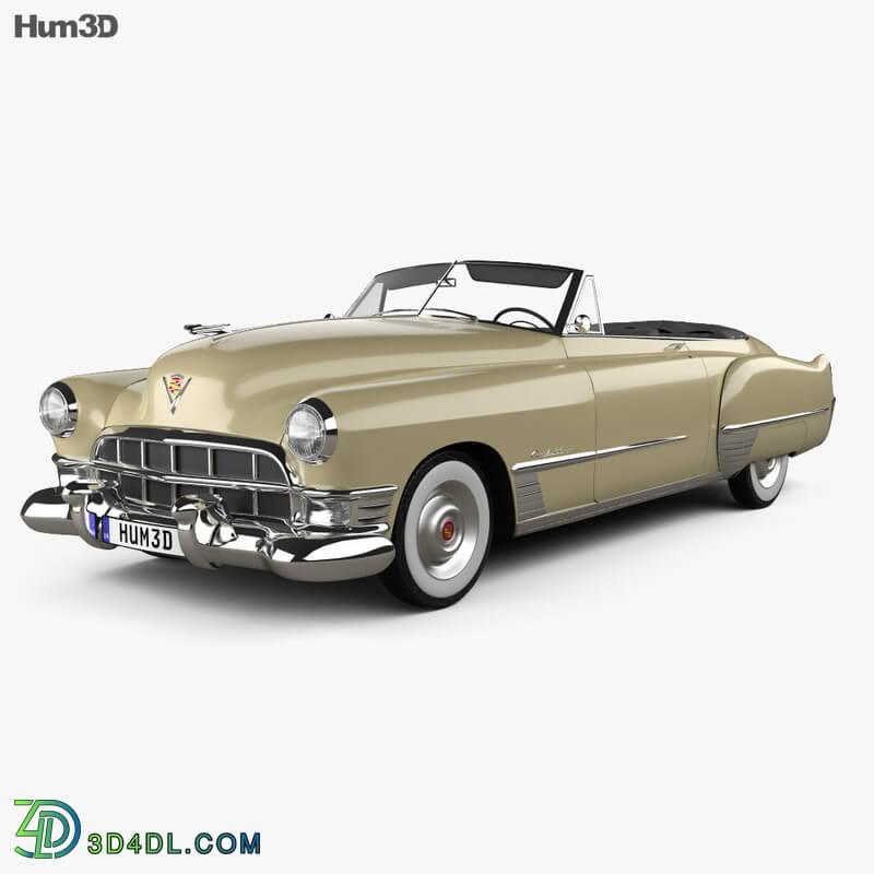Hum3D Cadillac 62 convertible 1949
