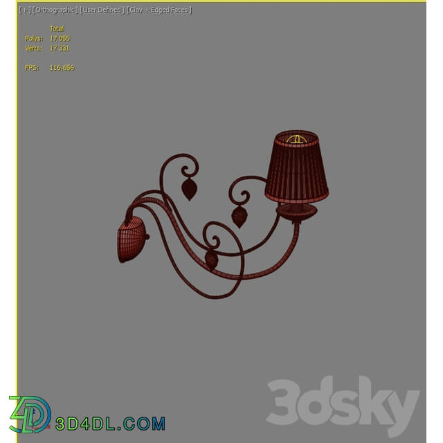 Wall light - Sconce Odeon Light Niagara 3921 _ 1W