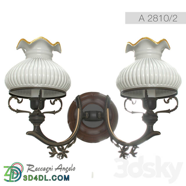 Wall light - Lamp_ Sconce Reccagni Angelo A 2810_2