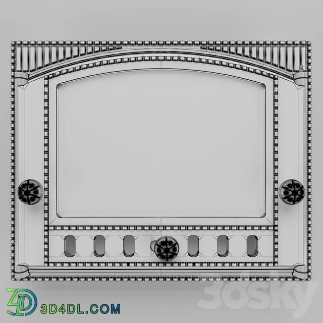 Fireplace - Fireplace door DK-2C