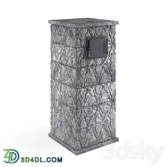 Fireplace - OM Sauna stove Talc 03