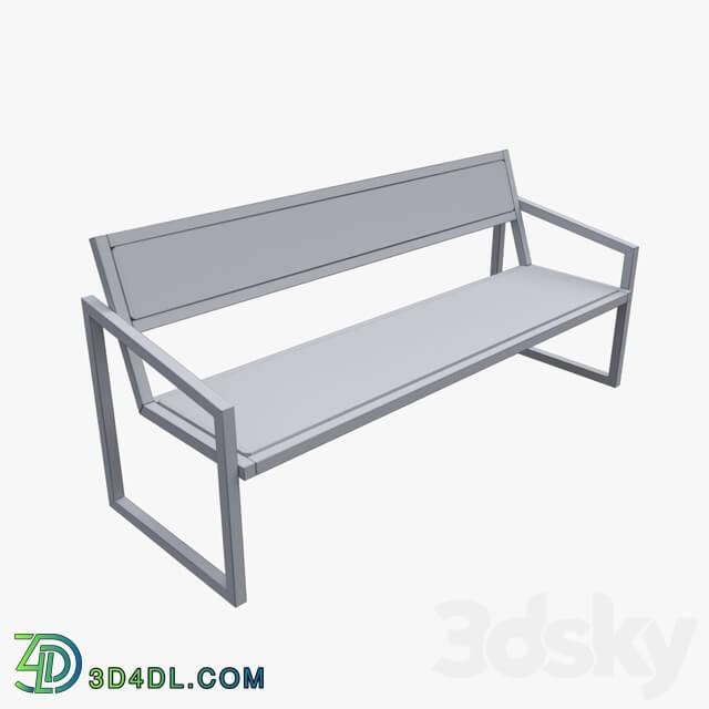 Urban environment - Park bench LOFT