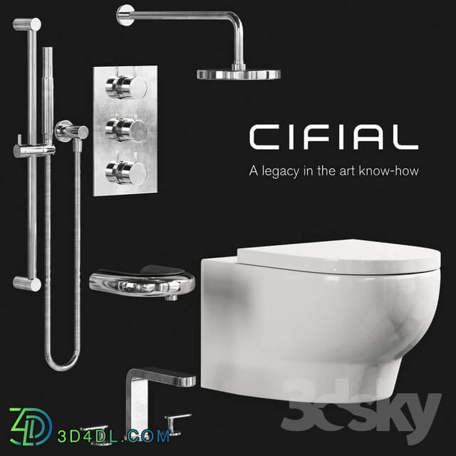 Toilet and Bidet - Cifial BATH SOLUTIONS