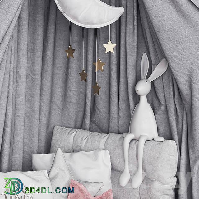 Miscellaneous - Moon canopy set
