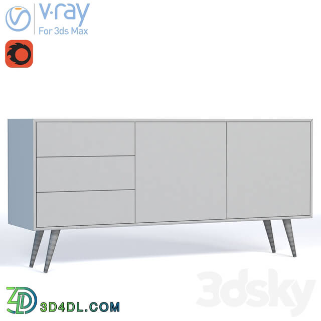 Sideboard _ Chest of drawer - Epsay Console _ 1