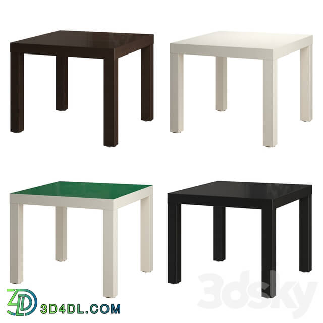 Table - IKEA_ LACK Side table_ 55x55 cm