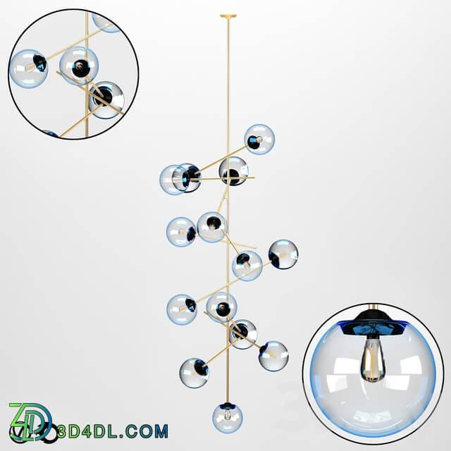 Chandelier - Modular oval lights