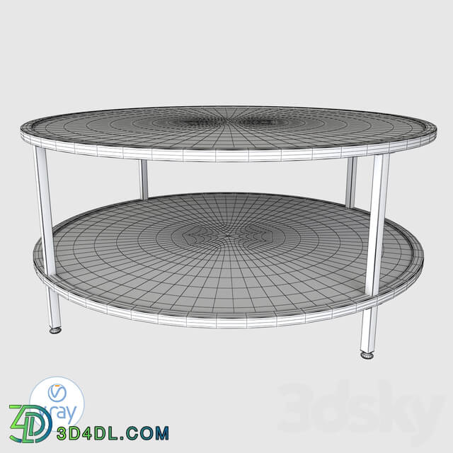 Table - Home camber floor shelf coffee table