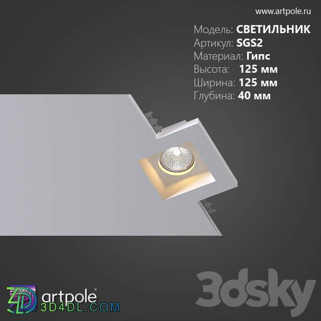 Spot light - OM Gypsum lamp SGS2