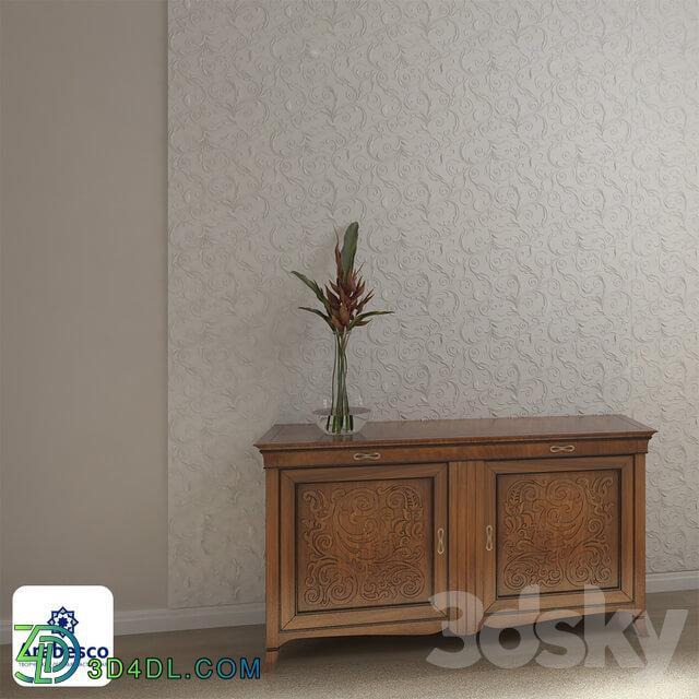 Decorative plaster - 3D panel 4 ОМ
