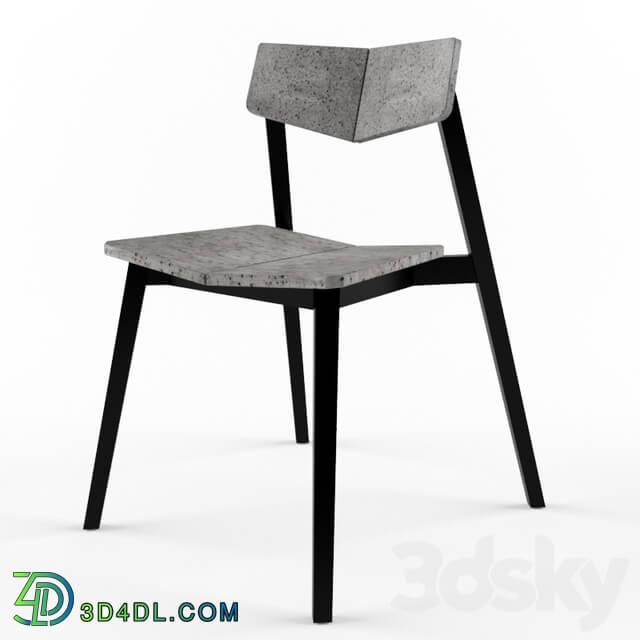 Chair - H concrete chair meraki