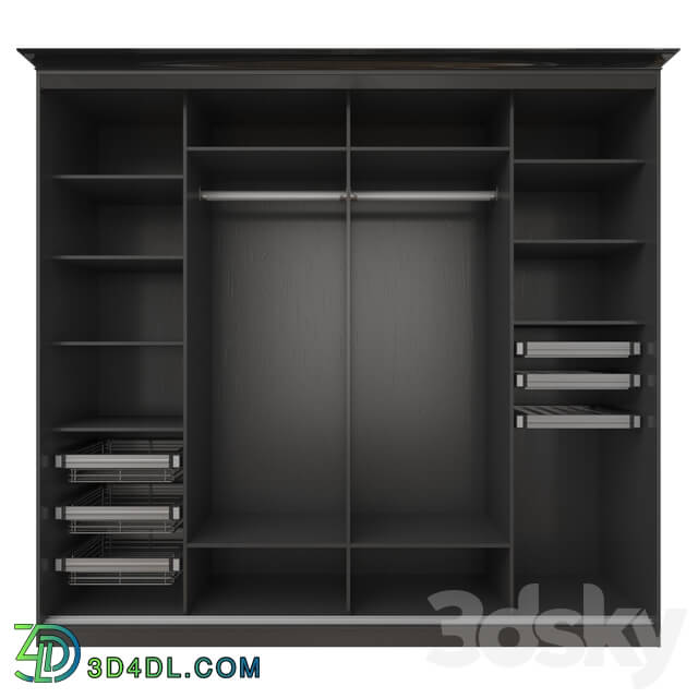 Wardrobe _ Display cabinets - Sliding wardrobe with SKM-80 system _14_