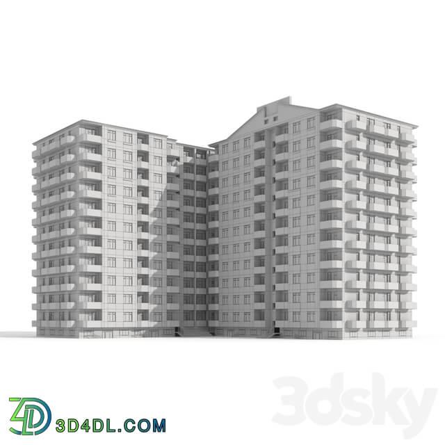 Building - Multi-storey residential building
