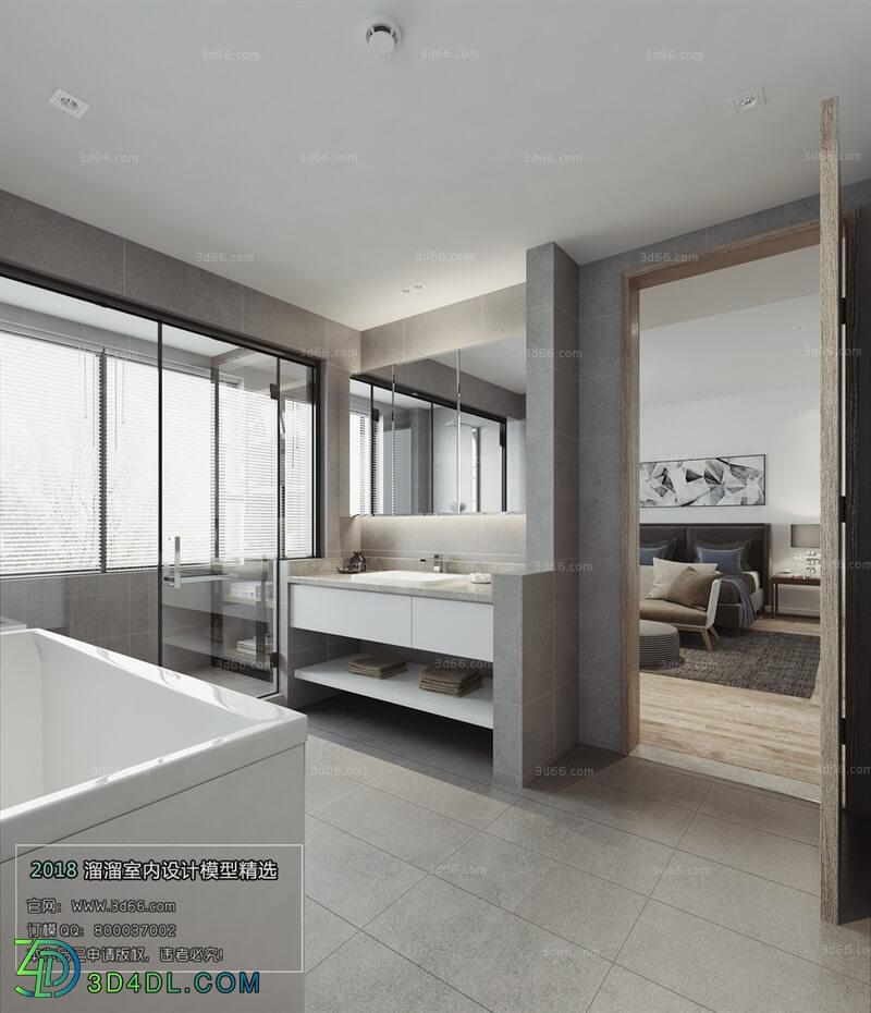 3D66 2018 Bathroom Modern style A004