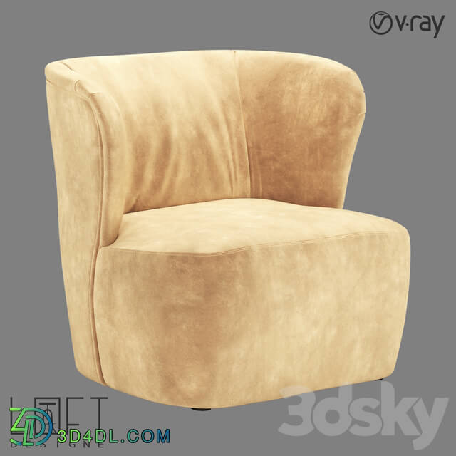 Arm chair - CHAIR LoftDesigne 4183 model