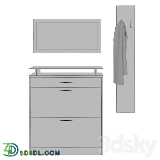 Hallway - Vladon furniture set