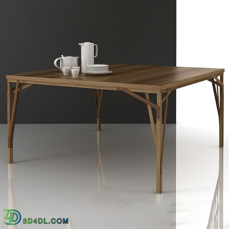 Design Connected Allumette tables