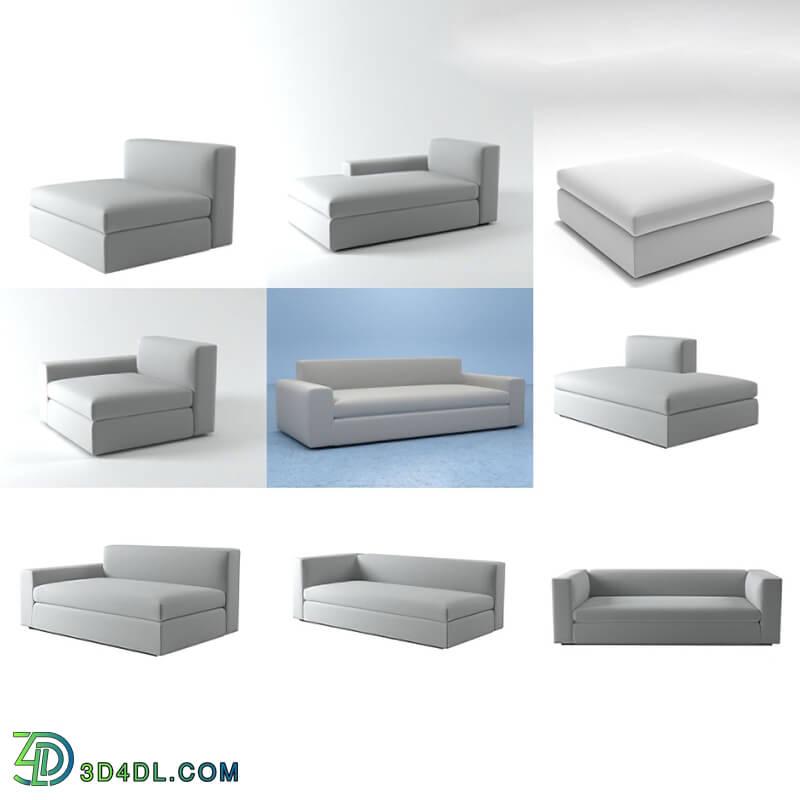 Design Connected Dune Sofa system