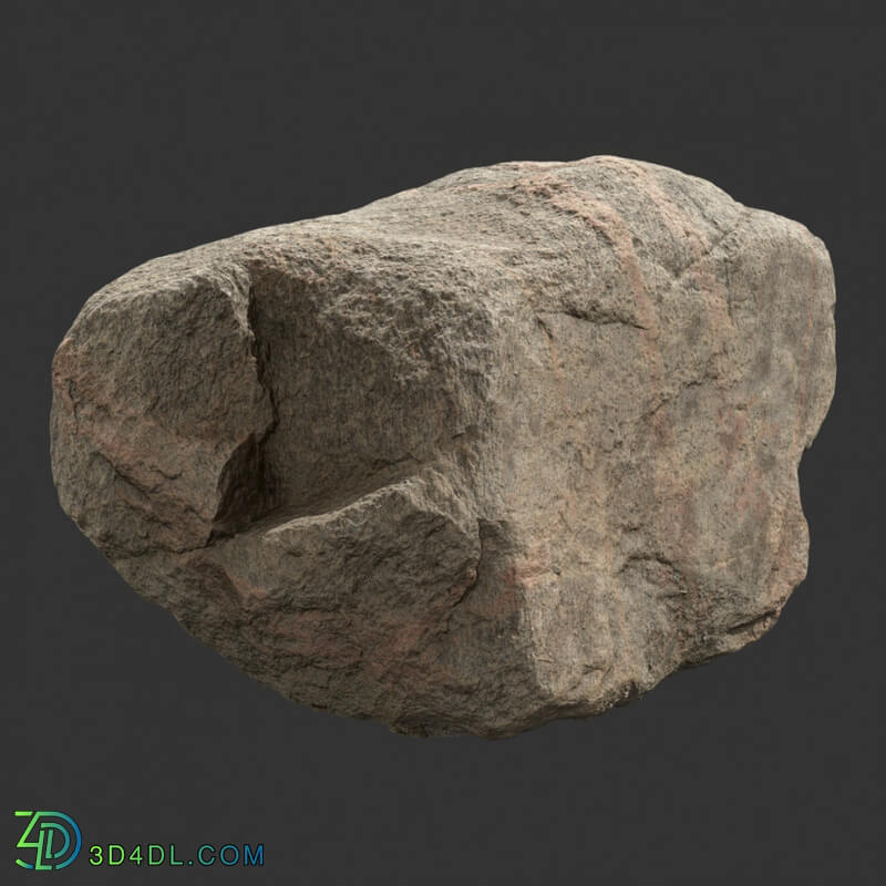 Poliigon Rock Boulder Large _ - - _(008)