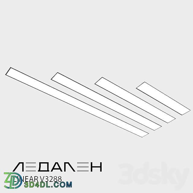 Technical lighting - Pendant lamp Linear P3288 _ LEDALEN