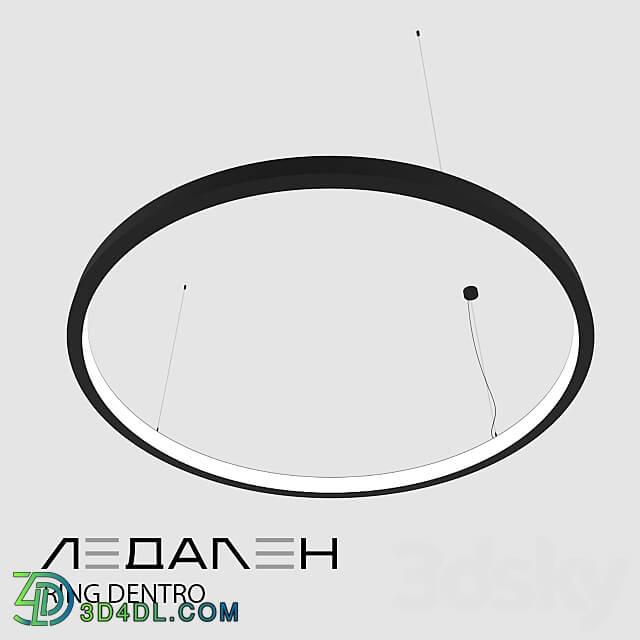 Pendant light - Ring lamp Ring Dentro _ LEDALEN