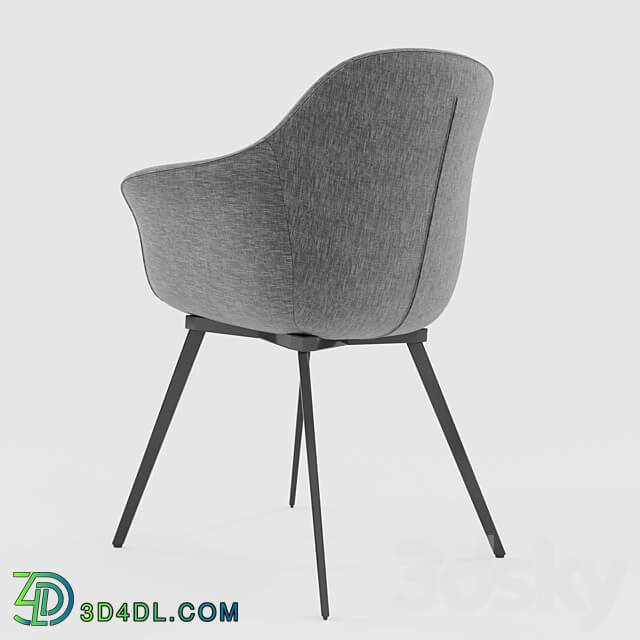 Chair - Gray dining chair Quilda LA REDOUTE gray