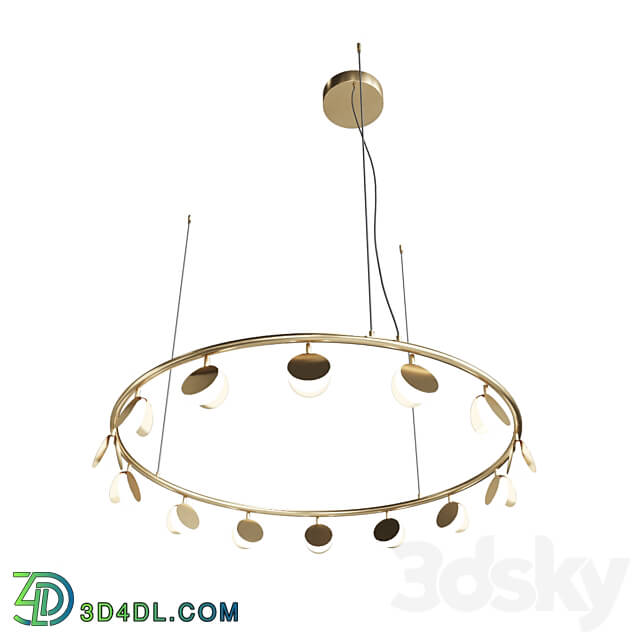 Pendant light - Mantra SHELL Pendant chandelier 7357 Ohm