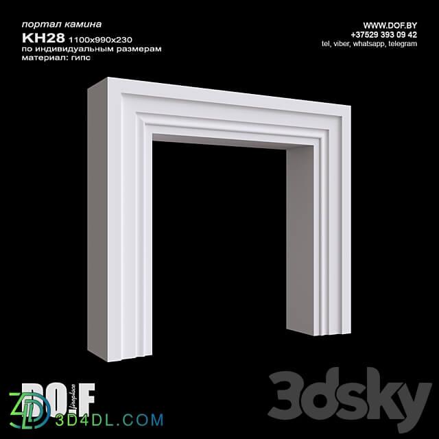 Fireplace - OM_KH28_1100_990_230_DOF