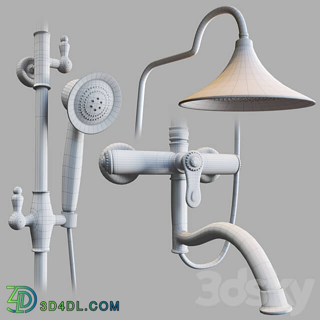 Faucet - shower system SHR-0024