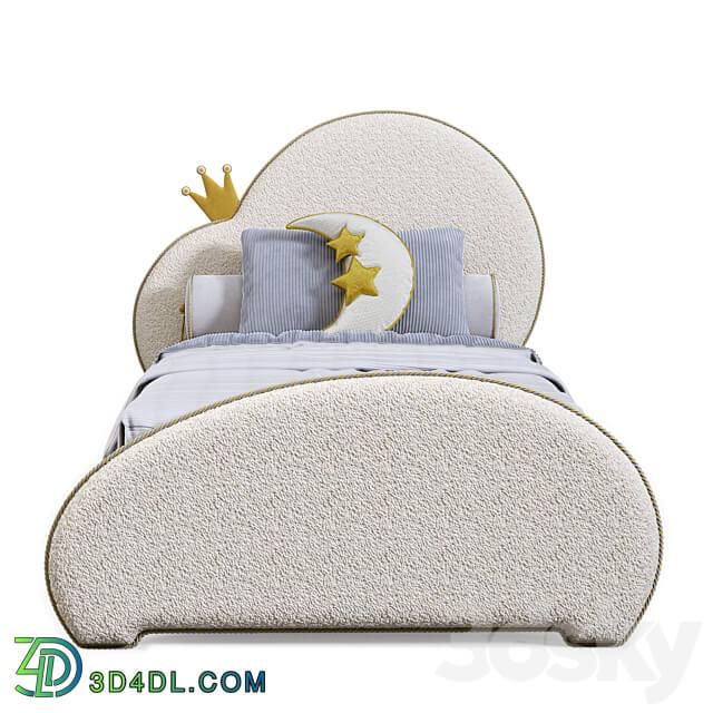 Bed - OM Children_s bed Cloud 1 from Iriska
