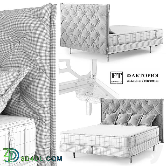 Bed - OM Bed FT Lux and Bed FT Loft