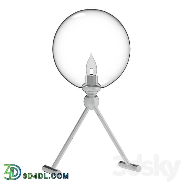 Table lamp - Fabricio Lg1 Chrome Transparente