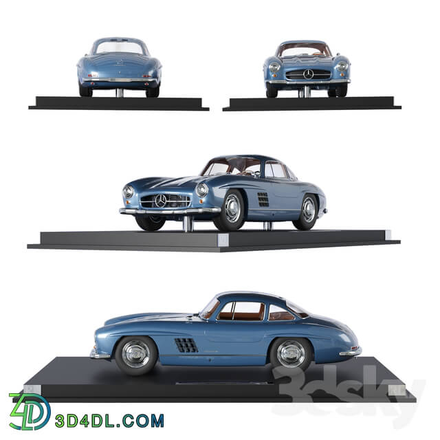 Other decorative objects - Mercedes Benz 300SL Coupe Limited Edition