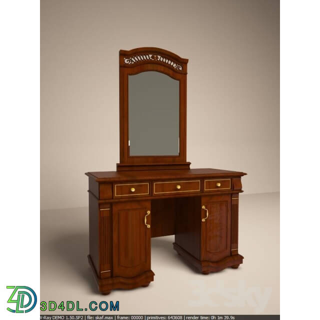 Sideboard _ Chest of drawer - Vanity with mirror