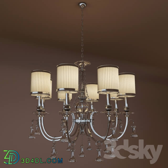 Ceiling light - Chandelier_ China. 24301-8 RD